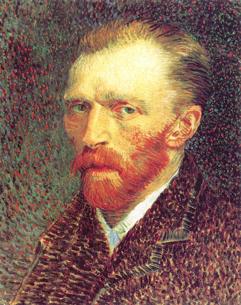 Self-Portrait - 1887 - Oil on cardboard - 42 x 34 cm. - The Art Institute of Chicago, Chicago