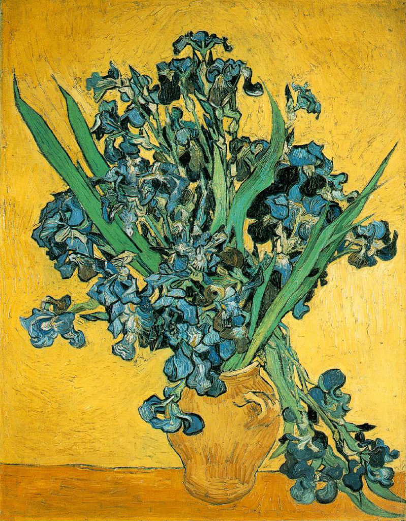 Irises - 1890 - Oil on canvas - 92 x 73.5 cm. - Van Gogh Museum, Amsterdam
