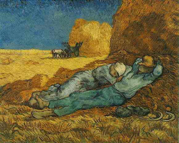 Rest from Work (after Millet) - 1890 - Oil on canvas - 73.0 x 91.0 cm. - Musée d'Orsay, Paris