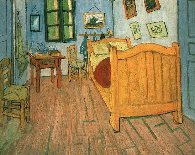 Vincent's Bedroom in Arles - 1888 - Oil on canvas - 72.0 x 90.0 cm. - Van Gogh Museum, Amsterdam