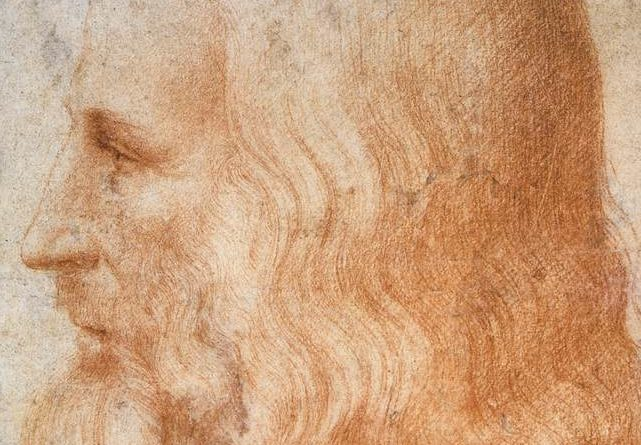 Portrait of Leonardo da Vinci by Francesco Melzi - Public domain, via Wikimedia Commons