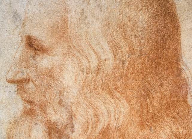 Portrait of Leonardo da Vinci by Francesco Melzi - Public domain, via Wikimedia Commons