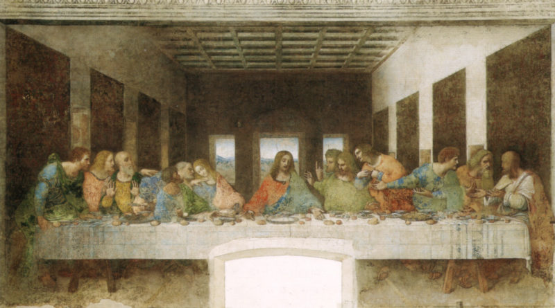 The Last Supper by Leonardo da Vinci - Convent of Santa Maria delle Grazie in Milan