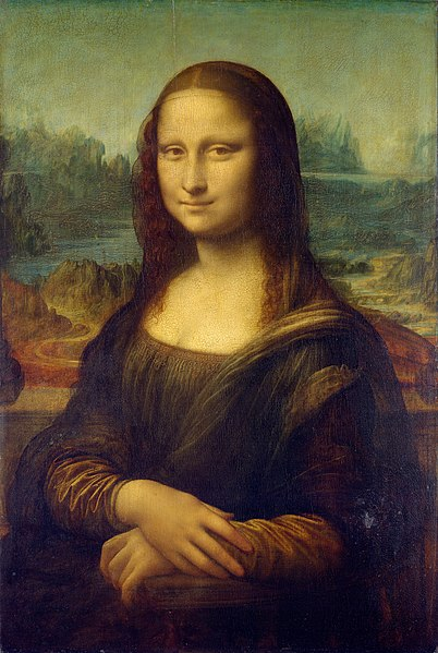 Mona Lisa by Leonardo da Vinci - Public domain, via Wikimedia Commons