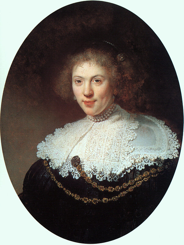 Woman Wearing a Gold Chain - 1634 - Oil on panel - Museum of Fine Arts - Boston