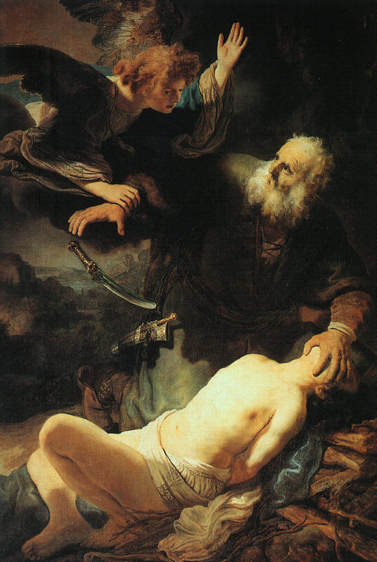 The Sacrifice of Isaac - 1635 - Oil - The Hermitage at St. Petersburg