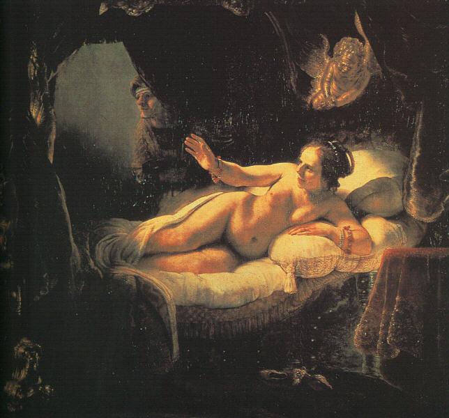 Danaë - 1636 - Oil - The Hermitage at St. Petersburg
