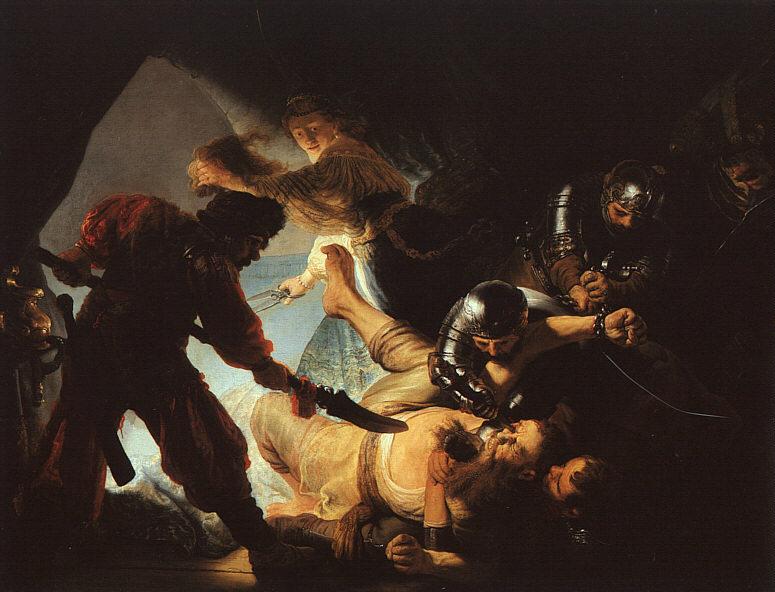 The Blinding of Samson - 1636 - Oil - Stadelscleskunstinstut - Frankfurt