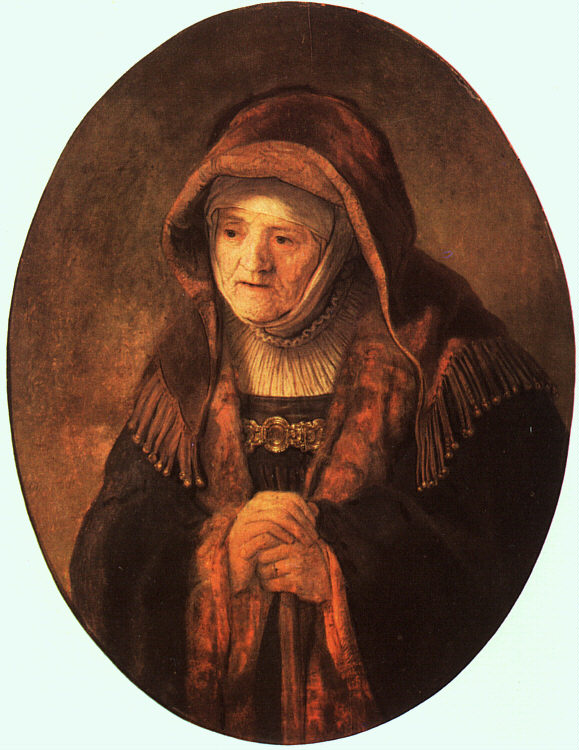 Rembrandt's Mother - 1639 - Oil on panel - Art History Museum - Vienna