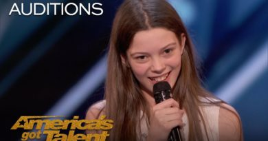 Courtney Hadwin, the 13-year-old girl who came from England to become the reincarnation of Janis Joplin on America´s Got Talent