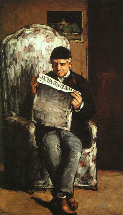 The Artist's Father - 1866 - Oil on canvas - National Gallery of Art at Washington