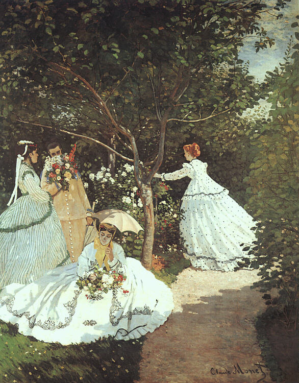 The Women in the Garden - 1867 - Oil on canvas - Musée d'Orsay, Paris