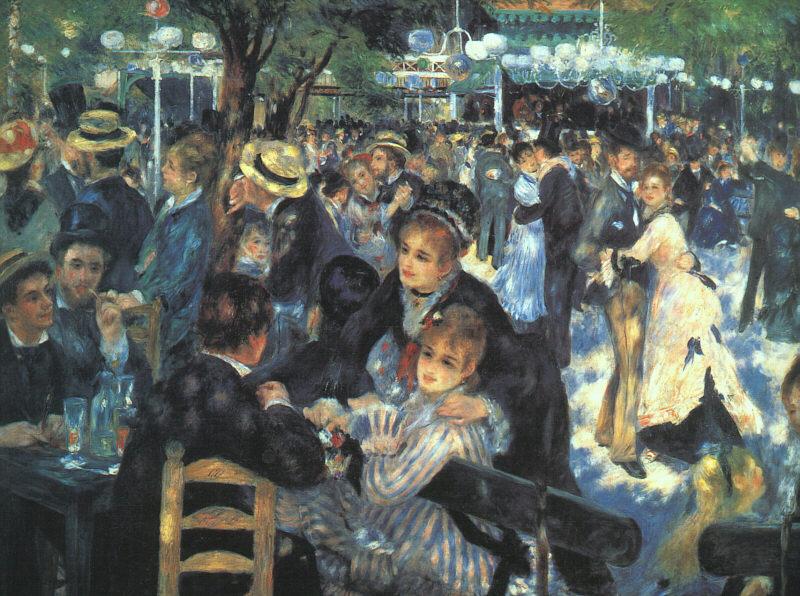 The Ball at the Moulin de la Galette