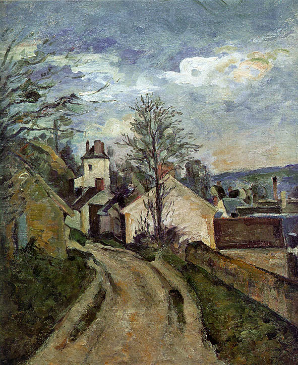 The House of Dr. Gachet in Auvers - 1873 - Oil on canvas - Musée d'Orsay - Paris