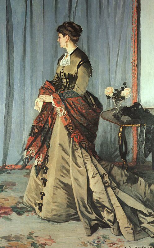 Madame Gaudibert - 1868 - Oil on canvas - Musée d'Orsay, Paris