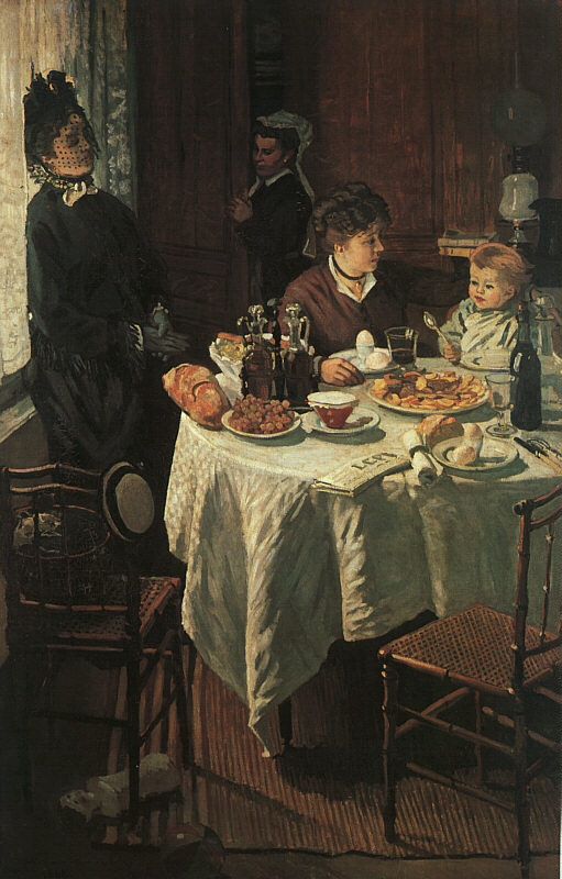 The Luncheon - 1868 - Oil on canvas - Städelsches Kunstinstitut, Frankfurt