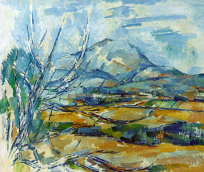 Montagne Sainte-Victoire - 1890-94 - Oil on canvas - National Gallery of Scotland - Edinburgh