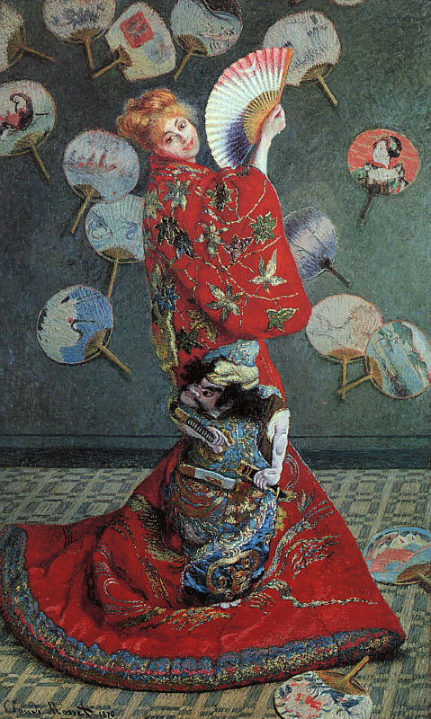 La Japonaise (Camille Monet in Japanese Costume) - 1876 - Oil on canvas - Museum of Fine Arts, Boston