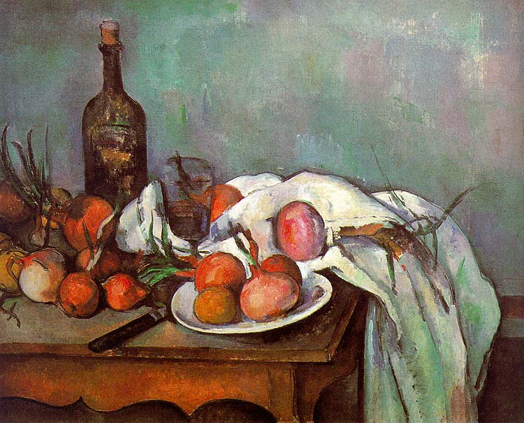 Onions and Bottle - 1895-1900 - Oil on canvas - Musée d'Orsay - Paris
