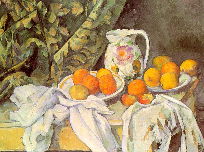 Still Life with Drapery - 1899 - Oil on canvas - The Hermitage - St. Petersburg