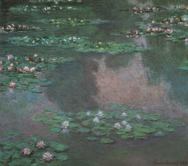 Water Lilies - 1905 - Oil on canvas - Museum of Fine Arts, Boston