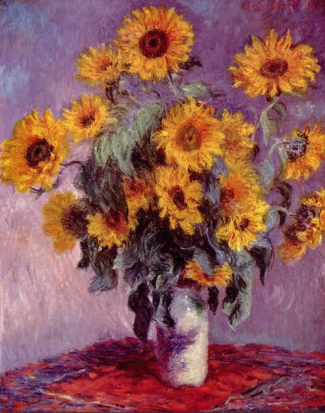 Sunflowers - 1881 - Oil on canvas - Metropolitan Museum of Art, New York
