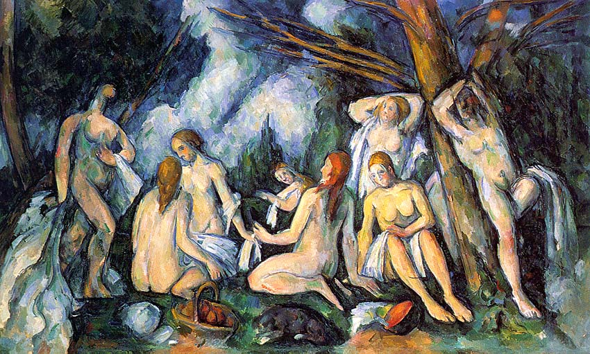 The Large Bathers - 1900-05 - Oil on canvas - The Barnes Foundation - Merion, Pensilvania