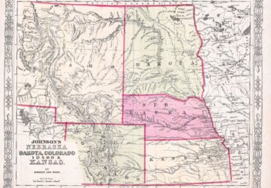 Where was The Ballad of Buster Scruggs filmed? - 1863 Johnson's Map of Colorado, Dakota, Idaho, Nebraska and Kansas. Alvin Jewett Johnson [Public domain]