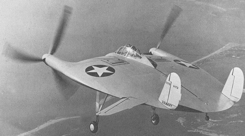 Weird planes - Vought V-173 - Flying Pancake