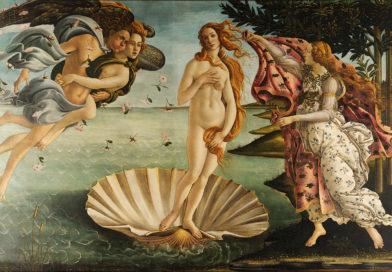 El nacimiento de Venus por Sandro Botticelli