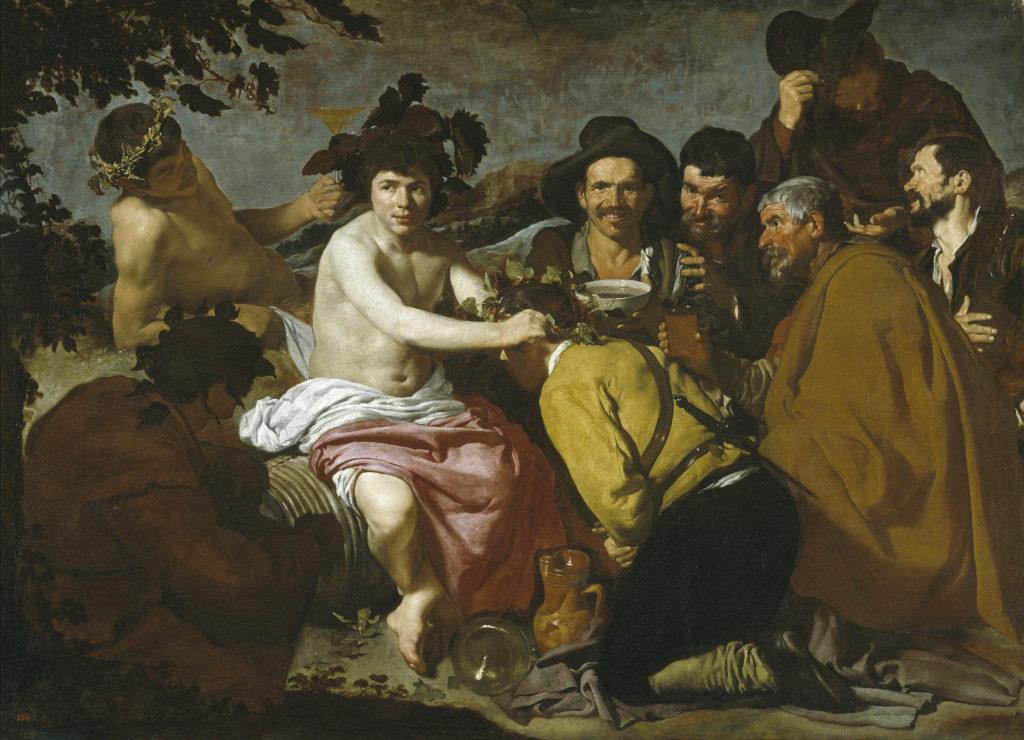 El triunfo de Baco por Diego Velázquez