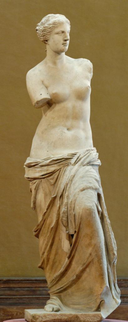La Venus de Milo por Alejandro de Antioquía