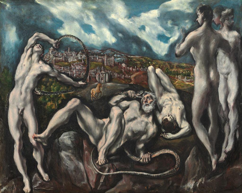 Laocoonte por El Greco