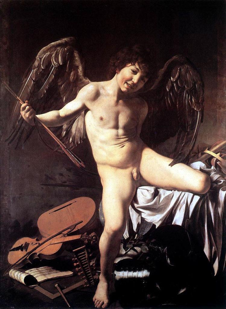 El amor victorioso por Caravaggio