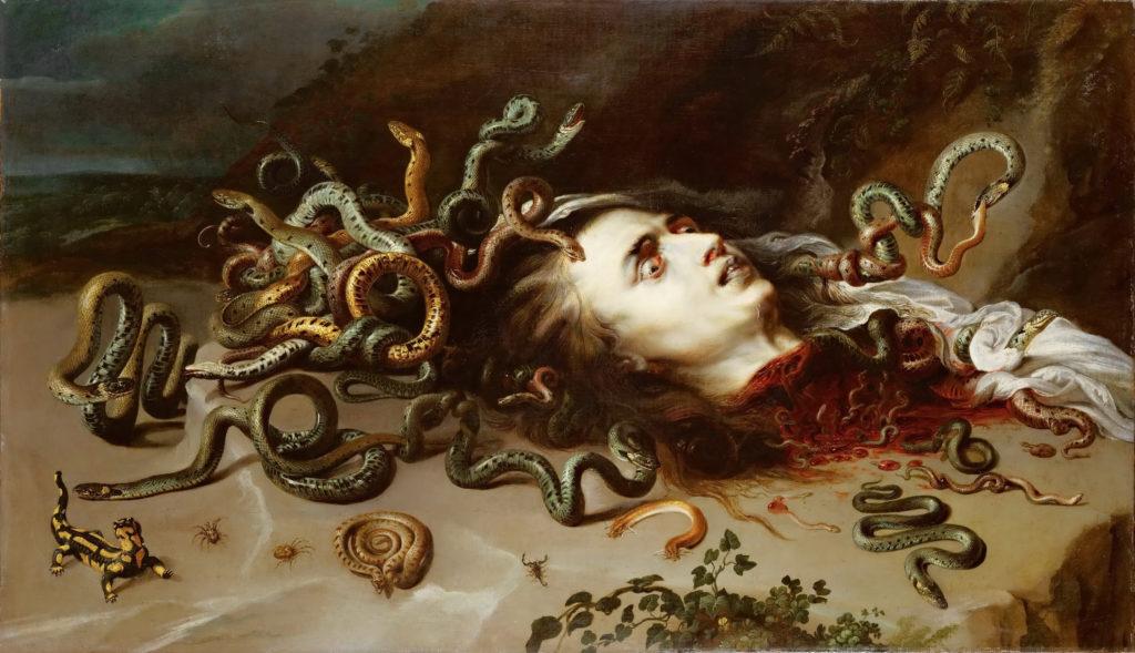 Cabeza de Medusa por Pedro Pablo Rubens