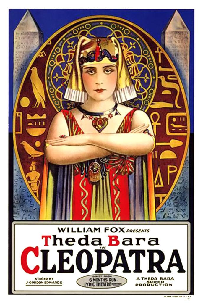 Póster de la película Cleopatra de 1917