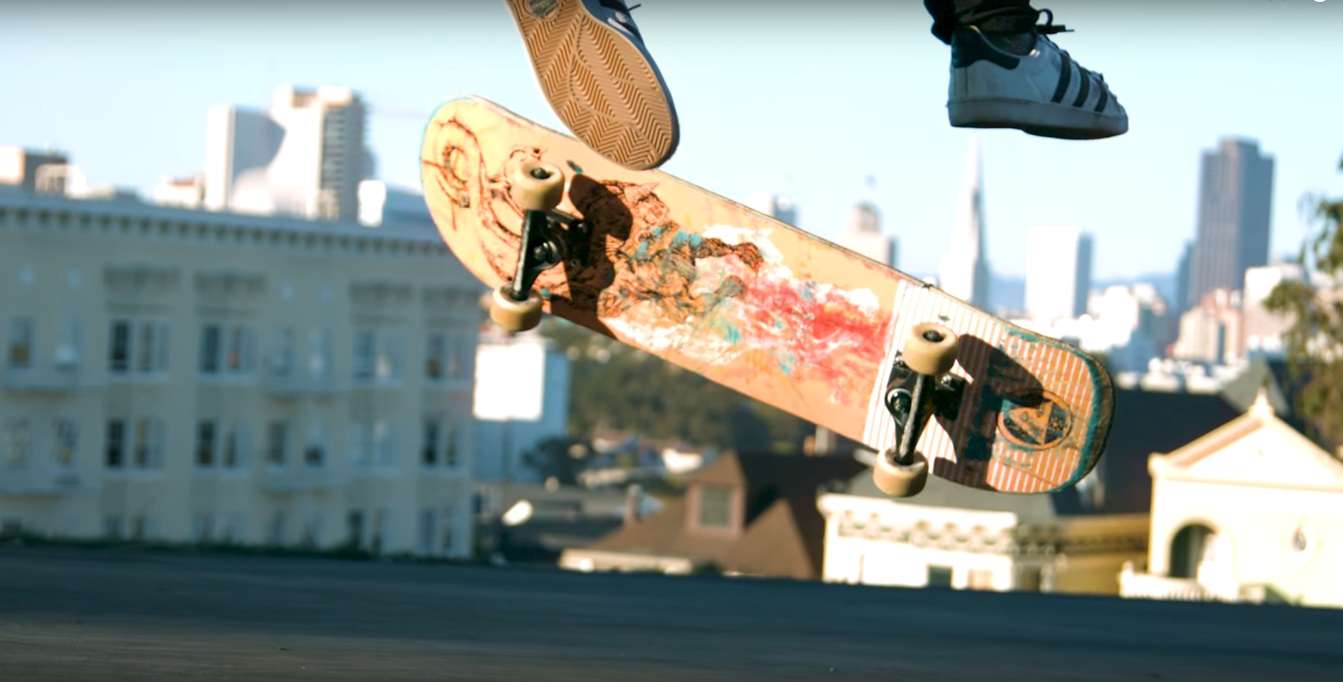 Skateboard y Parkour en San Francisco