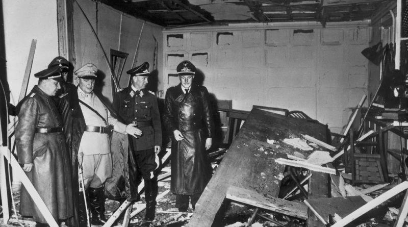 Sala de mapas donde se produjo el atentado contra Hitler