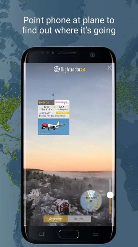 flight-radar-24 app