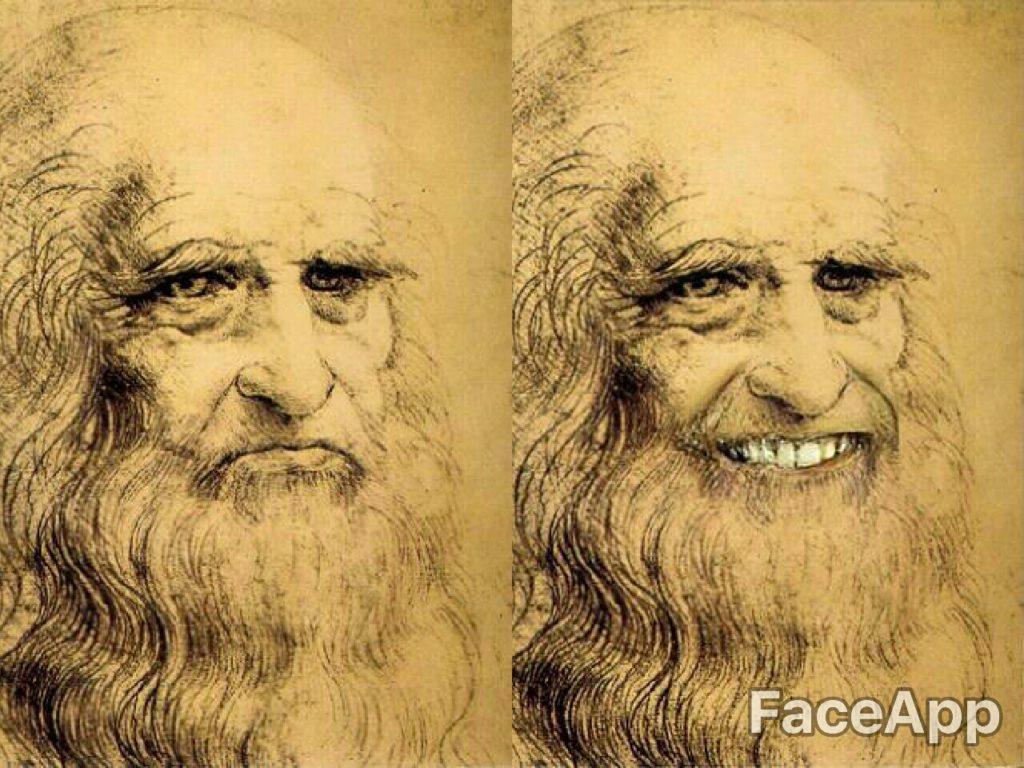 Autorretrato - Leonardo da Vinci