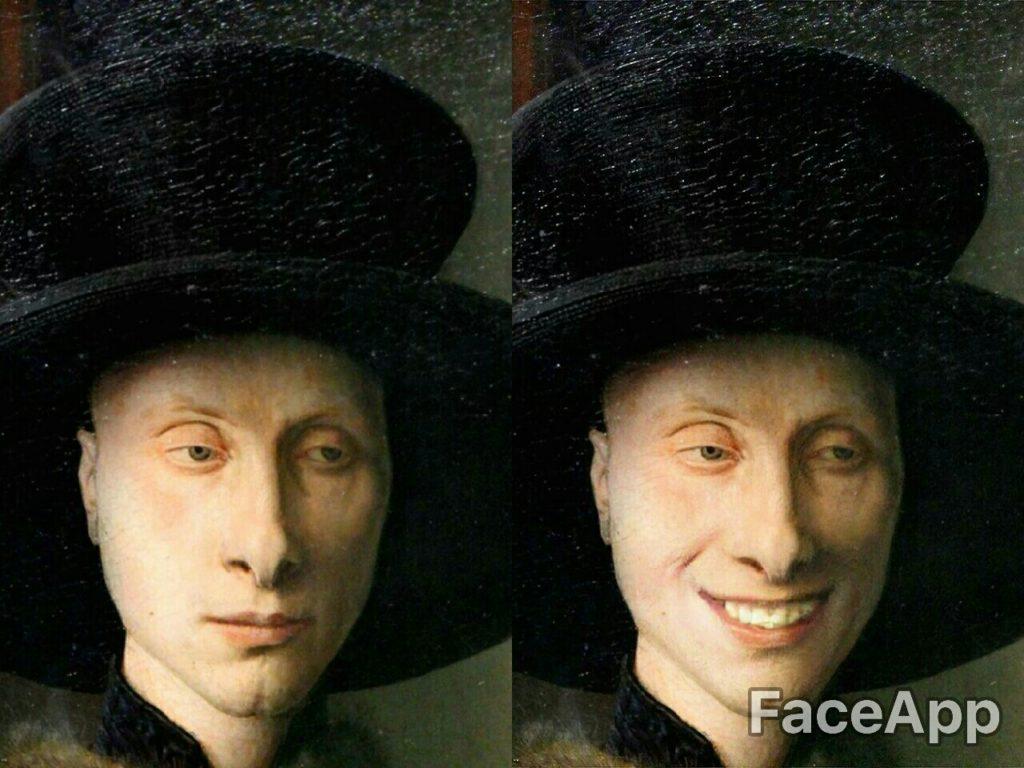 Detalle de El matrimonio Arnolfini - Jan van Eyck
