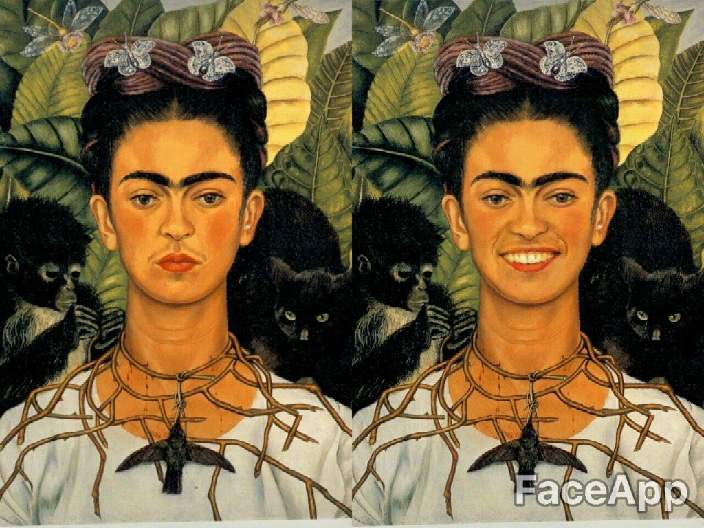 Autorretrato con collar de espinas - Frida Kahlo