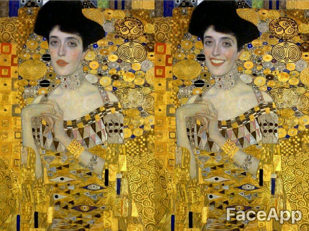 Retrato de Adele Bloch-Bauer I - Gustav Klimt