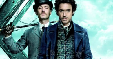 Jude Law como Watson y Robert Downey Jr. como Sherlock Holmes