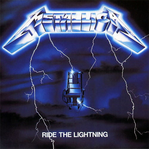 Portada de Ride the Lightning