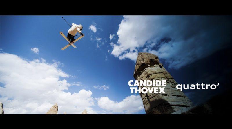 Candide Thovex esquía por todo el mundo sin necesidad de nieve