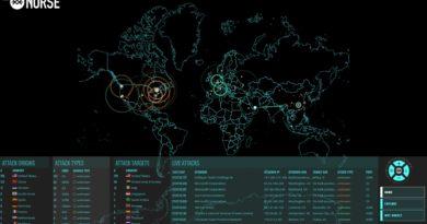Norse: mapa de ataques cibernéticos en tiempo real