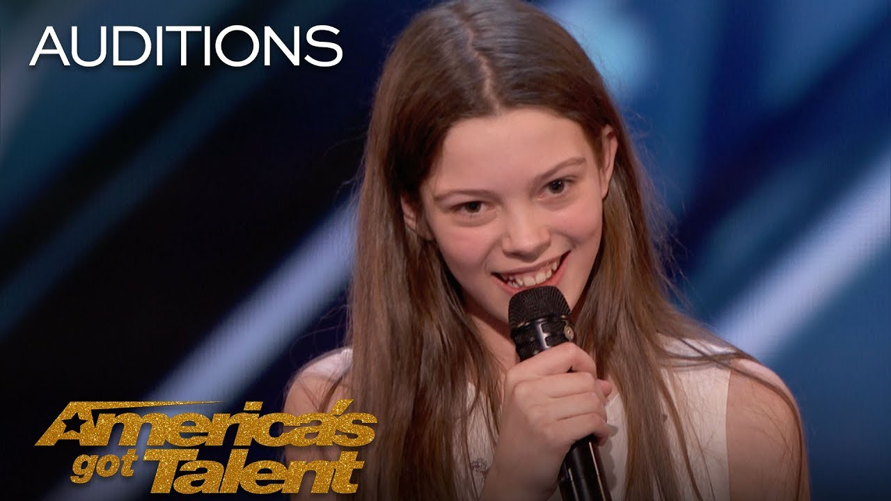 Courtney Hadwin, la chica de 13 años en la que se ha reencarnado Janis Joplin en America´s Got Talent