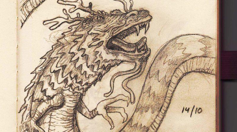 Dragón chino por Antonio