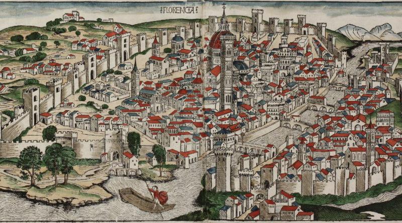 Florencia por Hartmann Schedel